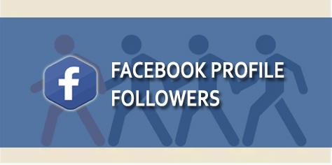 Buy Facebook Profile Followers