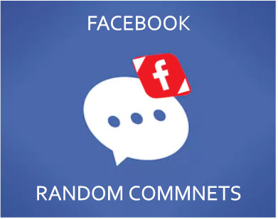 Buy Facebook Real Random Comments