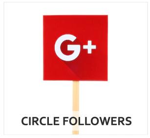 Buy Google Plus Circle Followers