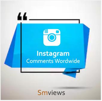 Buy Instagram Comments Worldwide