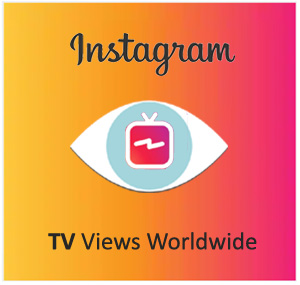 Buy Instagram TV Views Worldwide