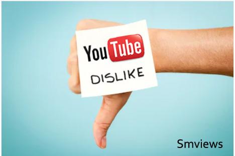 Buy Youtube Video Dislikes Worldwide